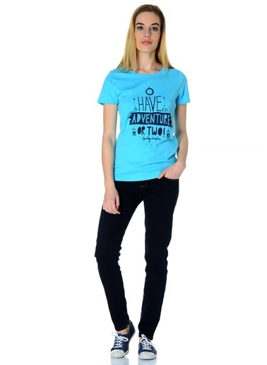 T-Box Tişört Mavi